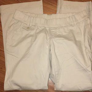 ⚪️EUC Maternity Pants